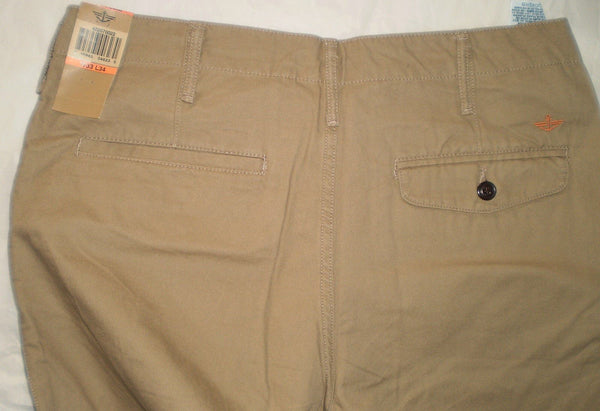Chinos - Men - Dockers Straight-Fit D2 Chino Trouser - Khaki