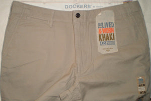 Dockers Straight-Fit D2 Chino trouser - Light Khaki - Ninostyle