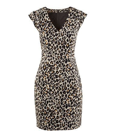 Dress - Ladies - H & M Dress - Leopard Shift Dress