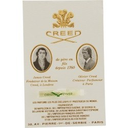 Fragrance - Creed Vetiver - EDP On Card - 1.5ml