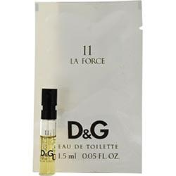 Fragrance - D&G 11 La Force- EDT Vial On Card - 1.5ml