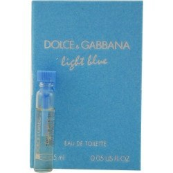 Fragrance - D & G Light Blue By Dolce & Gabbana - EDT Vial On Card - 1.5ml