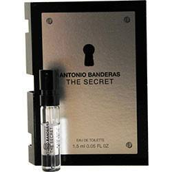Fragrance - The Secrete By Antonio Banderas - EDT Vial On Card - 1.5ml