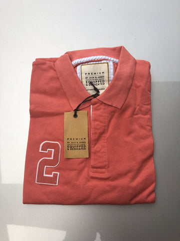 JACK & JONES Polo Top - Pink