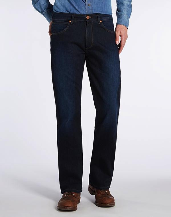 36a01996727 ... Jeans - WRANGLER JACKSONVILLE Boot-Cut Jeans - Get Worn In ...