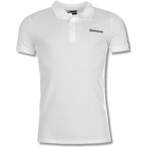 Lambretta Polo Shirt for Men - White