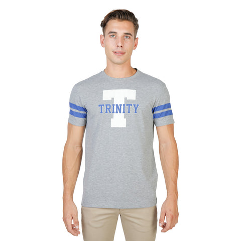 Oxford University Trinity Stripped tshirt - Grey