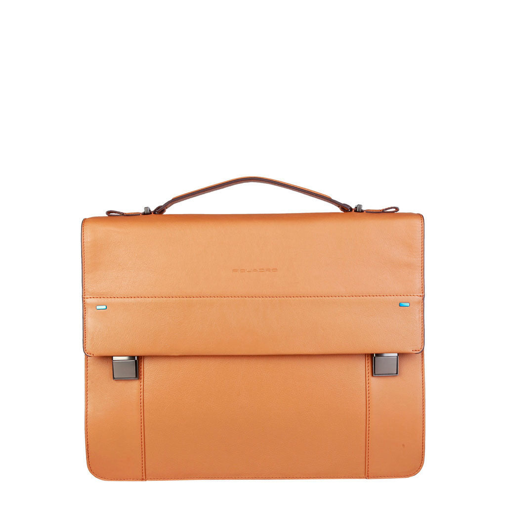 Piquadro Leather BriefcaseCA3466S78CU - Ninostyle