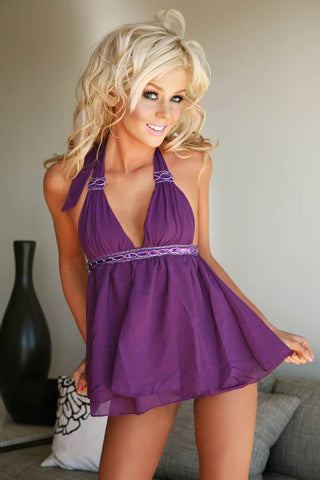 Lingerie - Sexy Lace Babydoll Lingerie