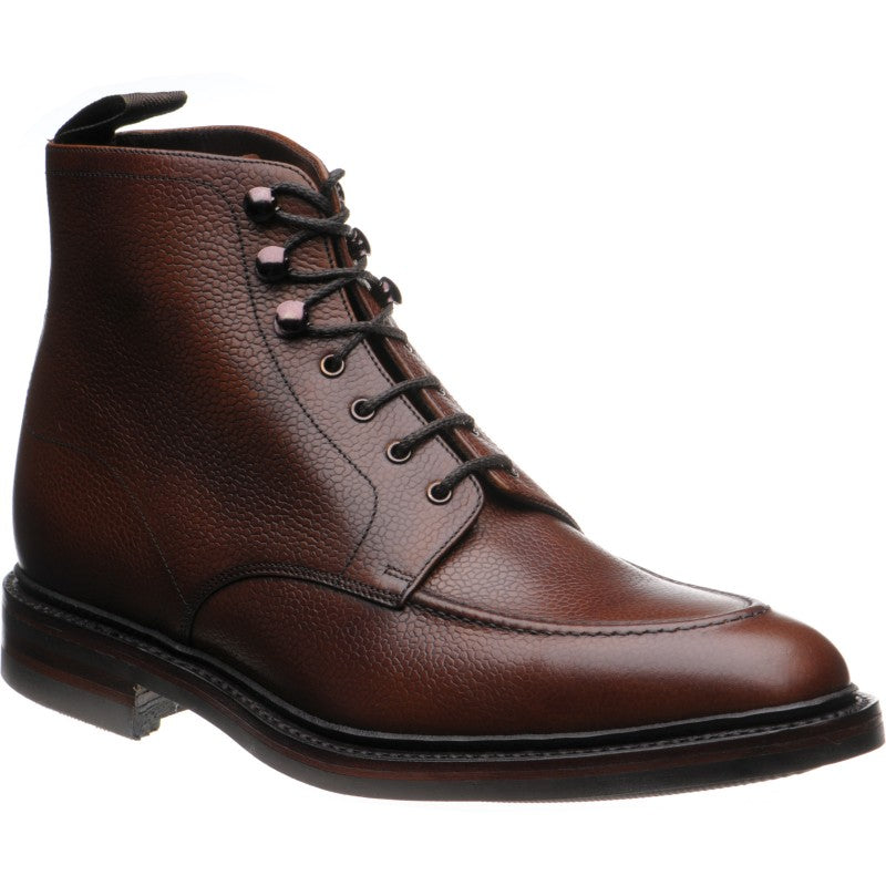 LOAKE - Anglesey Premium Calf Grain Boot - Oxblood - Ninostyle