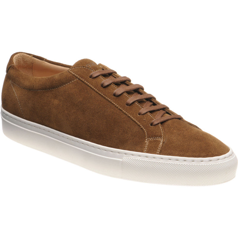 LOAKE  Sprint - Leather Sneakers -  Tan Suede