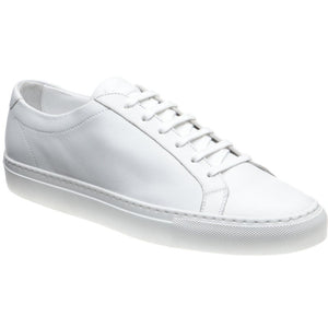 LOAKE  Sprint - Leather Sneakers -White- Angle View