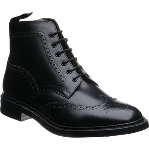 LOAKE Wolf - Premium Boot - Black - Angle View
