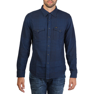 Lee - Western Shirt - Blue - Ninostyle