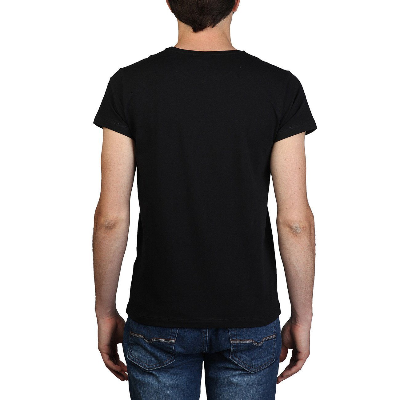 CALVIN KLEIN - fitted t-shirt - Black - 1 - Ninostyle