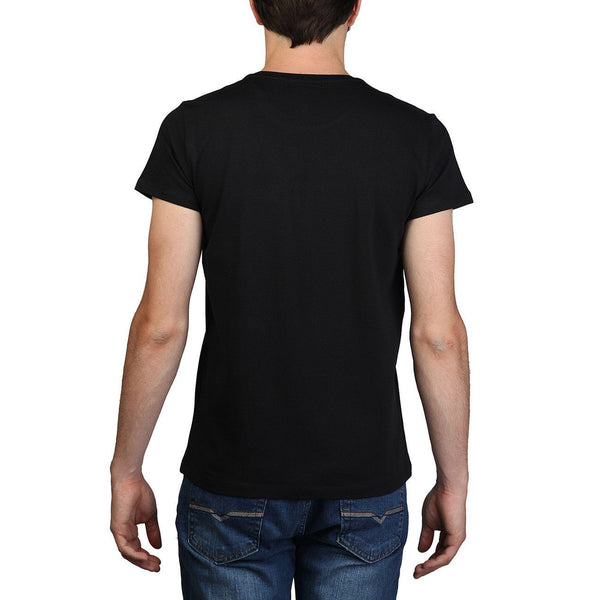 Men's Polo Shirt - CALVIN KLEIN Jeans - Fitted T-shirt - Black - 4