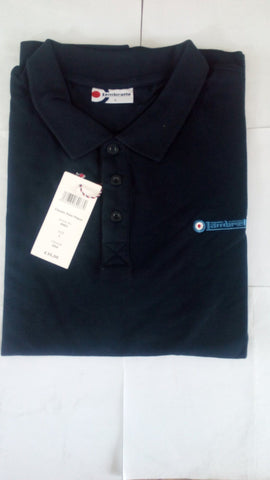 Men's Polo Shirt - Lambretta Polo Shirt For Men - Navy