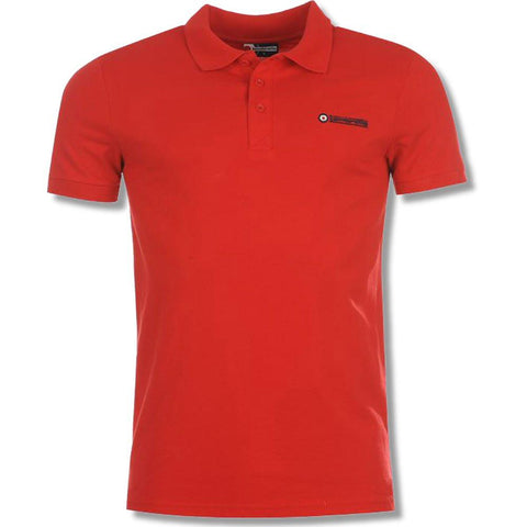 Men's Polo Shirt - Lambretta Polo Shirt For Men - Red