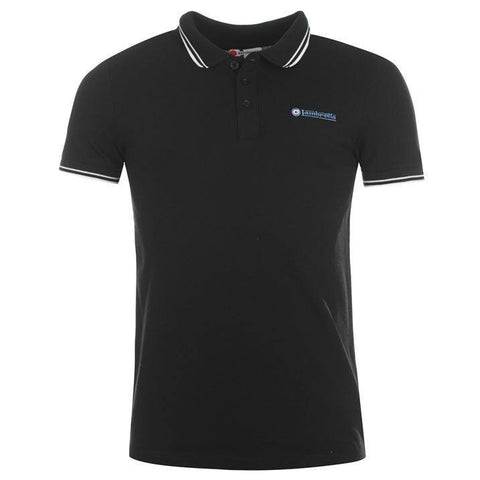 Men's Polo Shirt - Lambretta Tip Polo Shirt For Men - Navy