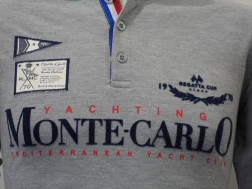 Men's Polo Shirt - MONTE CARLO Official Regatta Polo - Long Sleeves