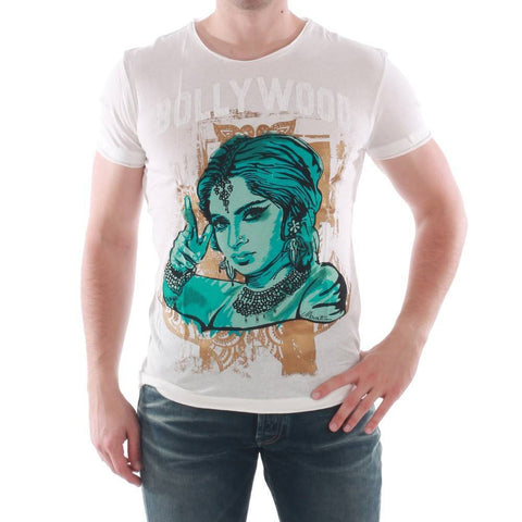 Men's T-Shirts - Antony Morato Bollywood T-Shirt - Off White