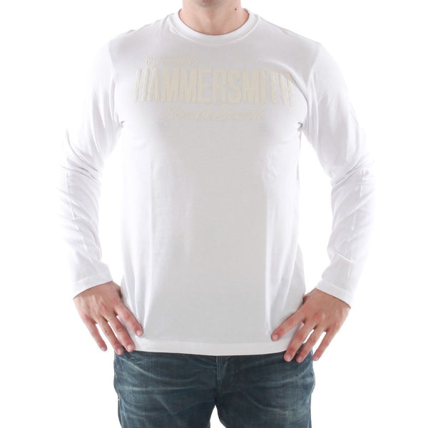 Men's T-Shirts - Catbalou -Hammersmith - Long Sleved T-shirt - White