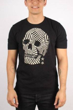 Men's T-Shirts - Diesel Skull T-Shirt  - Black