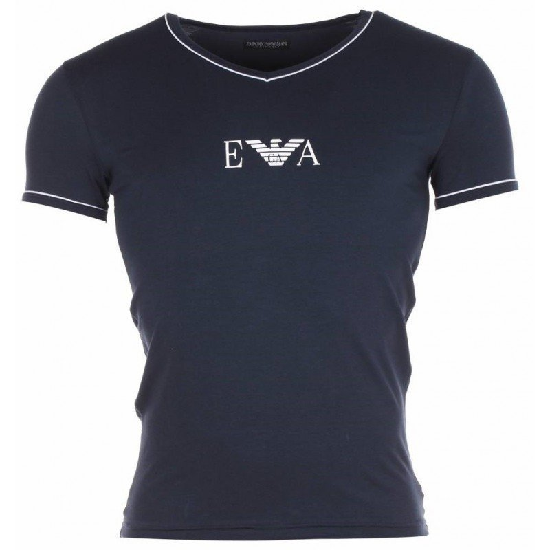 Emperio Armani  V-neck  t-shirt - Black - Small - Ninostyle