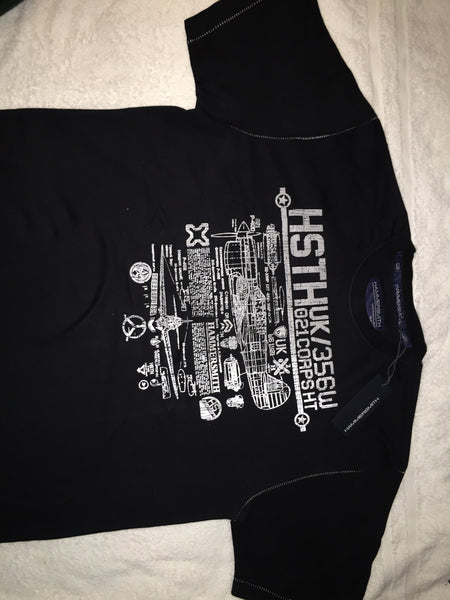 Men's T-Shirts - Hammersmith - Short Sleved T-shirt - Black - XXL