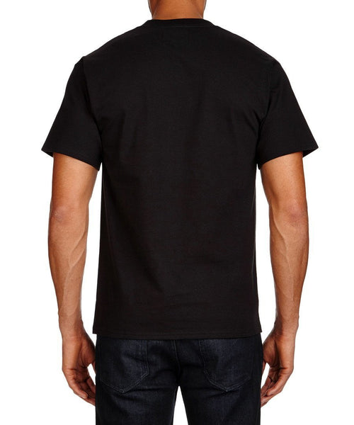 Men's T-Shirts - Lambretta Mens T Shirt Target Design - Black