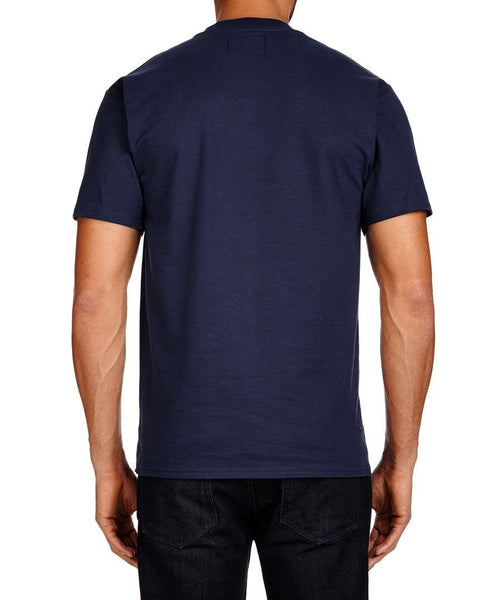 Men's T-Shirts - Lambretta Mens T Shirt Target Design - Navy
