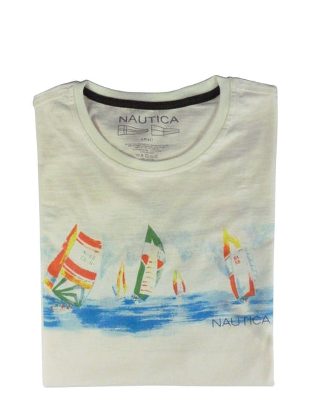 Men's T-Shirts - Nautica  T-shirt Cream - Nautica