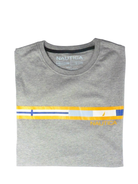 Men's T-Shirts - Nautica  T-shirt Grey - Nautica
