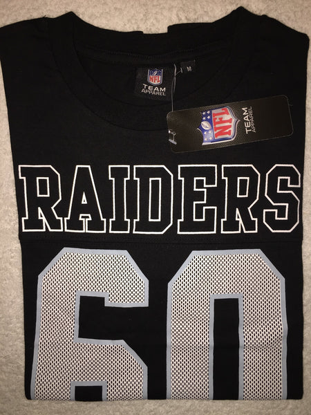 Men's T-Shirts - RAIDERS (NFL)  - Short Sleved T-shirt - Black