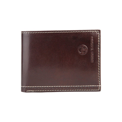 Men's Wallet - SERGIO TACCHINI - Dark Brown