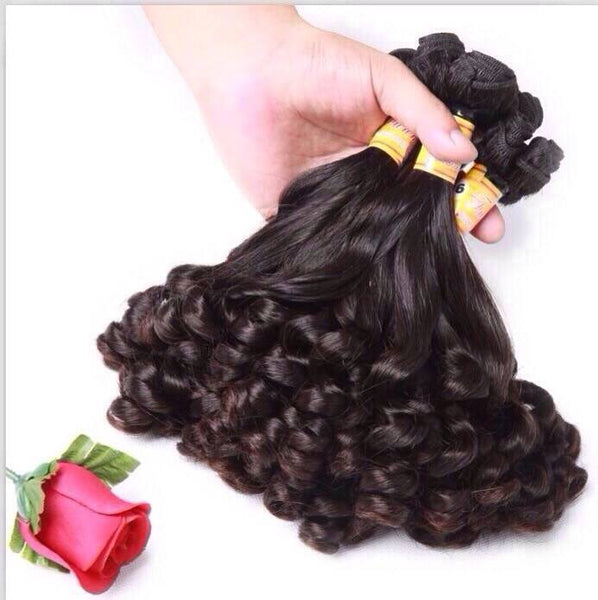 "Natural Hair - European Rose Curl 10"" - 12"""