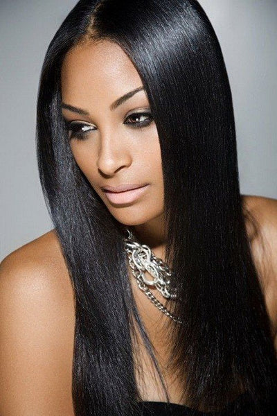 "Natural Hair - Peruvian Silky Straight Hair 16""- 22"""