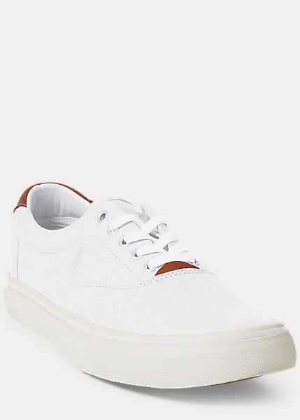 Polo Ralph Lauren - Thornton Canvas LowTop Trainer - White