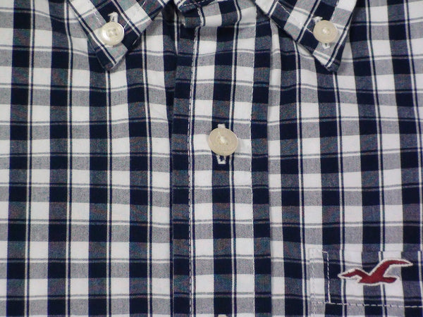 Shirts - Men - HOLLISTER Long Sleeve Checked Shirt