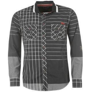 Shirts - Men - Long Sleeved Shirt - Men - Lee Cooper Fashion