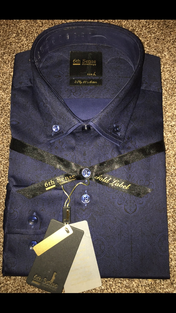 Shirts - Men - Sixth Sense Luxury Double Collar Shirt