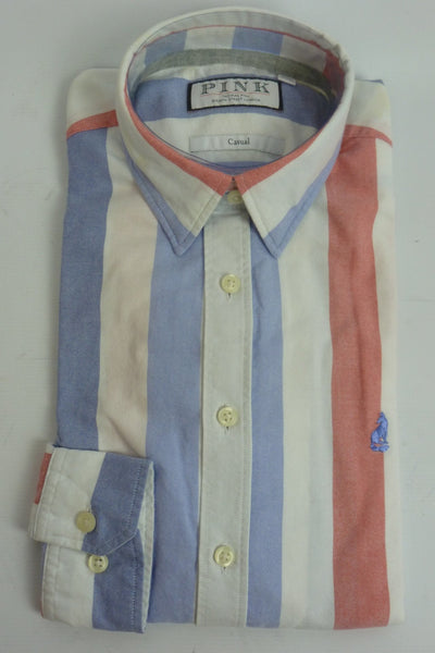 Shirts - Men - Thomas Pink Casual Shirt - 4