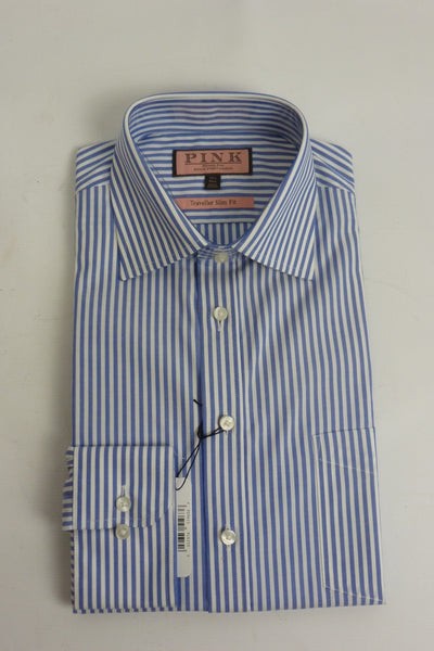 Shirts - Men - Thomas Pink Formal Strip Shirt - 8