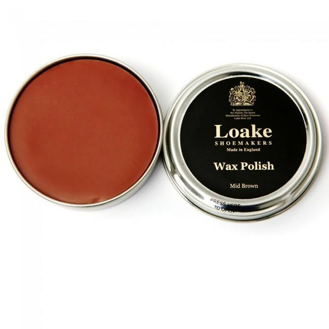 LOAKE (wax) Shoe Polish - Medium Brown - Ninostyle