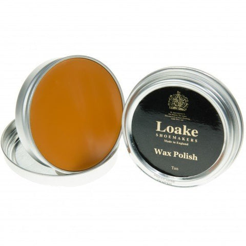 Shoe Care - LOAKE (wax) Shoe Polish - Tan