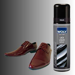 Shoe Care - Woly -  Lack Patent Liquid - Black
