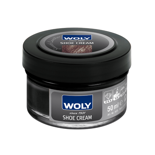 Shoe Care - Woly -  Shoe Cream - Black