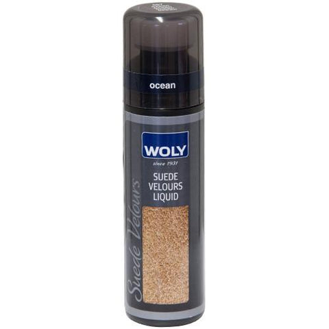 Shoe Care - Woly - Suede Renovator Spray - Dark Blue (Ocean)