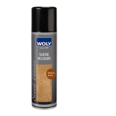 Shoe Care - Woly - Suede Renovator Spray - Medium Brown