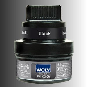 Shoe Care - Woly - Wax Colour Classic (renovating Polish) - Black